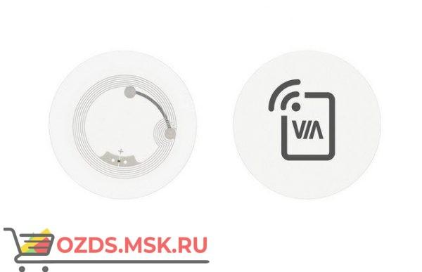 VIA NFC TAG WHITE NFC метка для настройки подключения мобильных устройств к системам для совместной работы VIA; цвет белый