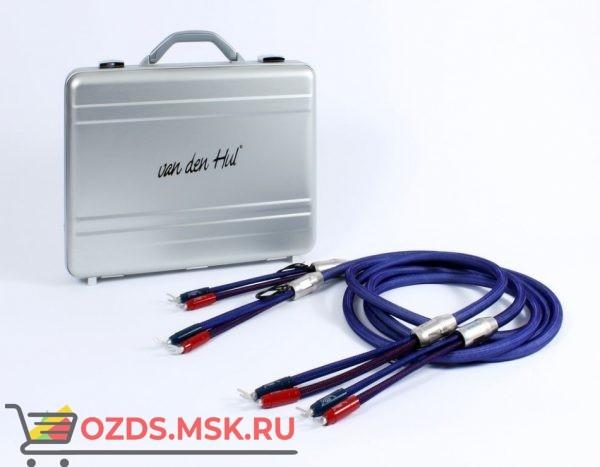 Акустический кабель  Van den Hul Mounted set 3T The Cloud Limited Edition Hybrid. 4 метра пара. Разъем BERRI (2-2) Цвет пастельно-голубой