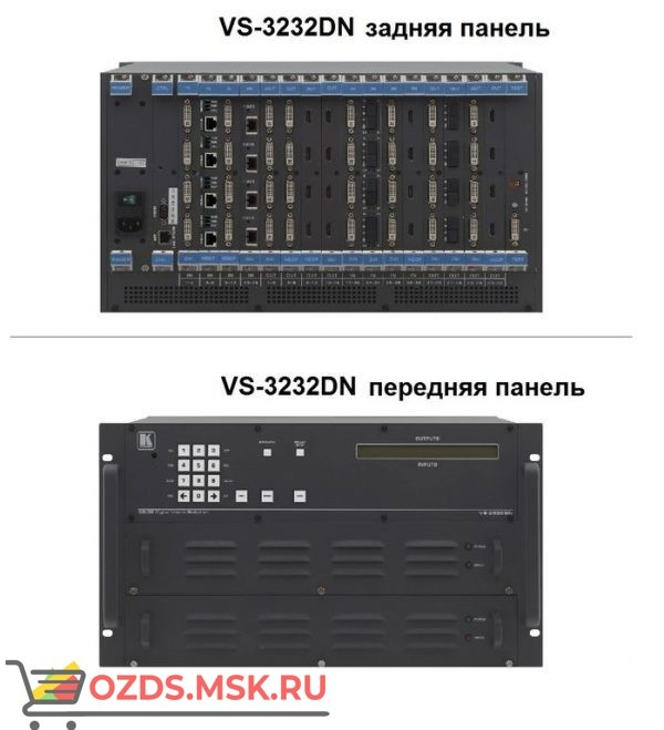 VGAA-OUT4-F32/STANDALONE: Модуль c 2 выходами VGA (аналоговыми) и стерео аудио