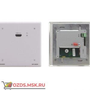 WP-580R/EU(W)-86, до 70 м: Приёмник сигнала HDMI, RS-232 и ИК из кабеля витой пары (TP)