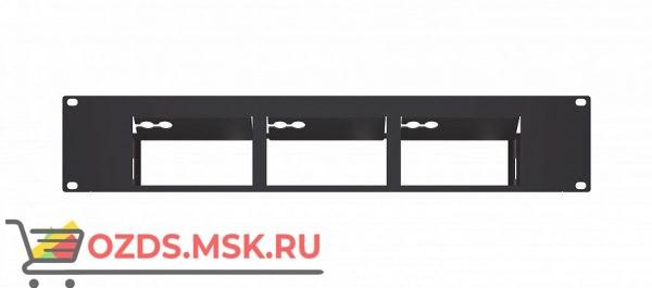 RK-CONNECT-PRO Адаптер 2U для 19'' стойки для трех приборов VIA Connect PRO