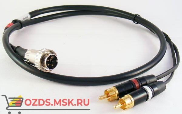 Naim Interconnect, 2 RCA to 4 Pin Din, 1 метр