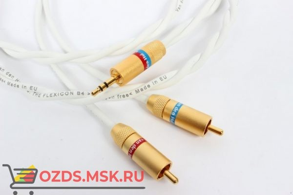 mini jack (3.5mm)-RCA Van den Hul The Flexicon B4. Длина 1 метр: Кабель межблочный