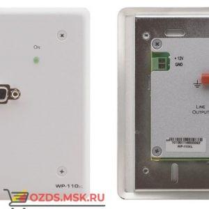 WP-110XL/EU(B)-86 Передатчик VGA/YUV по витой паре; эмулятор EDID, до 250 м, цвет черный