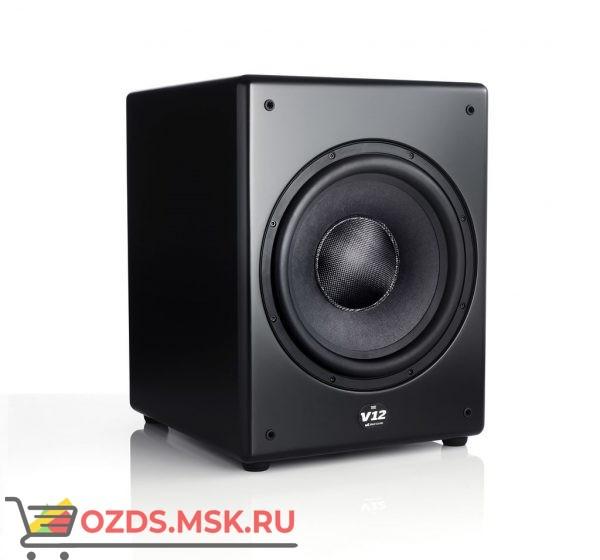 M&K Sound V12. Цвет: Матовый черный Satin/Black Cloth
