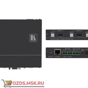 Kramer DIP-31: Передатчик HDMI/VGA, стерео аудио, двунаправленного RS-232, ИК и Ethernet по HDMI