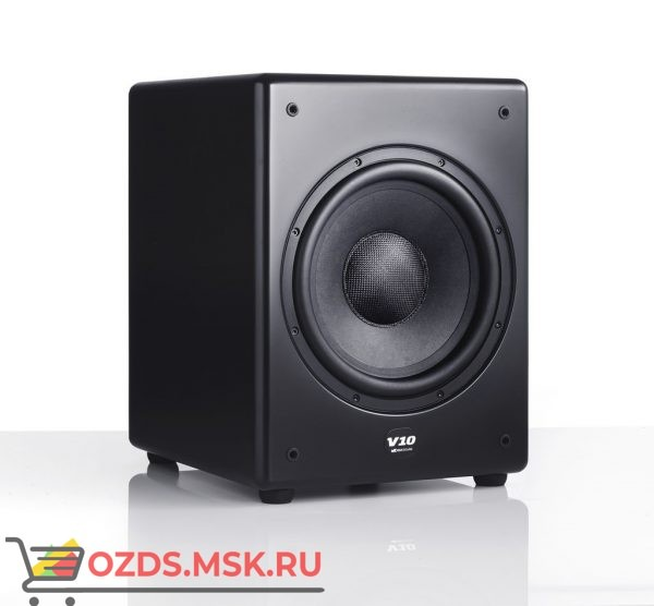 M&K Sound V10. Цвет: Матовый черный Satin/Black Cloth