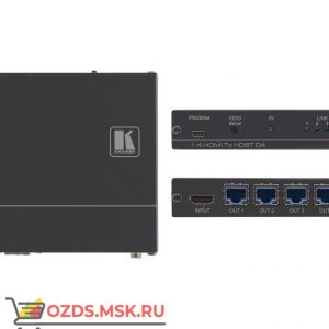 Kramer VM-4HDT: Передатчик HDMI по витой паре HDBaseT с четырьмя выходами