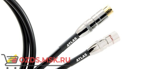 Atlas Hyper dd, 0.5 м разъем XLR: Межблочный кабель