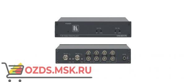 VM-80VN Усилитель-распределитель 1:8 видео; 330 МГц, регулировка уровня и АЧХ, режим двух распределителей 1:4