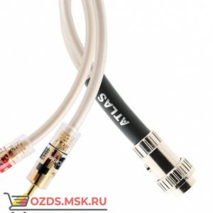 Atlas Element 1.0 м разъём DIN на RCA: Межблочный кабель