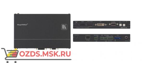 SID-X1N: Передатчик сигнала DisplayPort/DVI-D/DisplayPort/VGA по витой паре DGKat и панель управления коммутатором Step-In