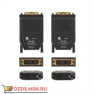 614R/T: Волоконно-оптические передатчик и приемник DVI (комплект)