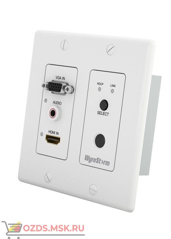 WyreStorm TX-SW-IW-0201: Настенный переключатель-передатчик 2×1 HDMI/VGA по витой паре (HDBaseT)