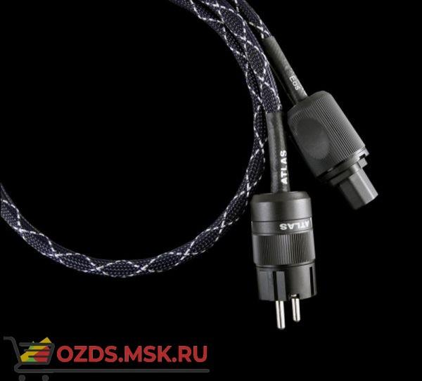 Atlas Eos MKII 4.0 SQ mm Rhodium Schuko-IEC 1.5m IEC-SCHUKO C15: Сетевой кабель