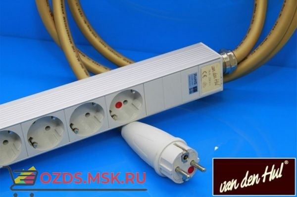 Сетевой разветвитель Van den Hul M.C. The Mainsstream Hybrid Powerblock Длина 2,5 метра на 7 розеток