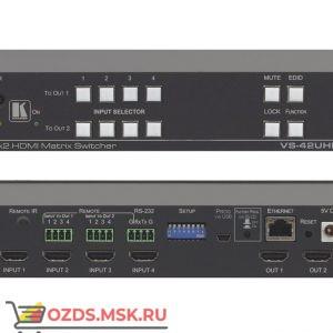Матричный коммутатор 4х2 HDMI Kramer VS-42UHD; поддержка 4K