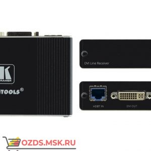 Kramer TP-580RD: Приёмник HDMI, RS-232 и ИК по витой паре HDBaseT с разъемом DVI-I