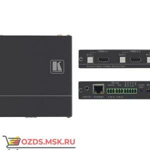 DIP-20 Передатчик HDMI/VGA, стерео аудио, двунаправленного RS-232, ИК и Ethernet по витой паре HDBaseT с кнопкой управления коммутатором Step-In