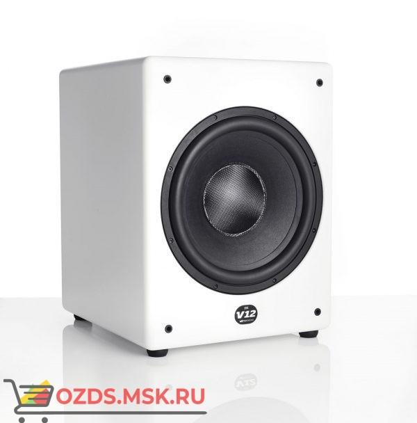 M&K Sound V12. Цвет:  Матовый белый Satin/White Cloth