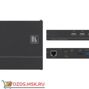 Kramer TP-590RXR: Приемник HDMI, Аудио, RS-232, ИК, USB по витой паре HDBaseT
