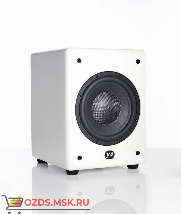 M&K Sound V8. Цвет:  Матовый белый Satin/White  Cloth