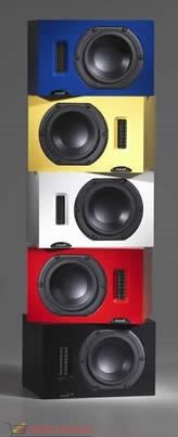 Полочные акустические системы Neat IOTA. Цвет: Красный
