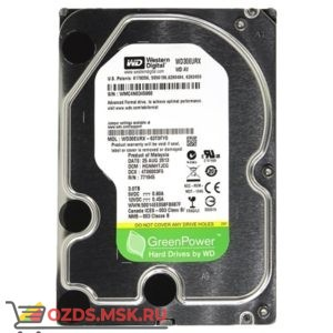 Western Digital WD30EURX HDD 3Tb: Жесткий диск