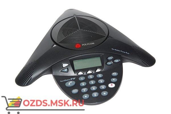 Polycom SoundStation2 EX Телефонный аппарат для конференц-связи