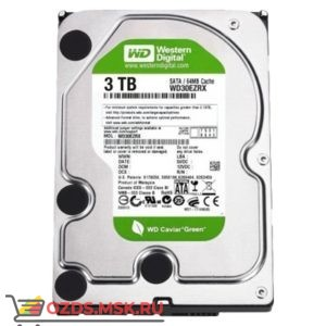 Western Digital WD30EZRX HDD 3Tb: Жесткий диск