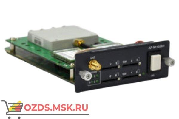 AP-GS-GSM4 - интерфейсный модуль 4 GSM канала для базового шасси