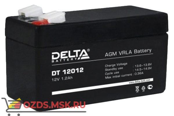 Delta DT 12012 Аккумулятор