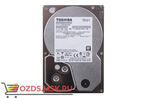 Toshiba MD03ACA200V HDD 2Tb: Жесткий диск