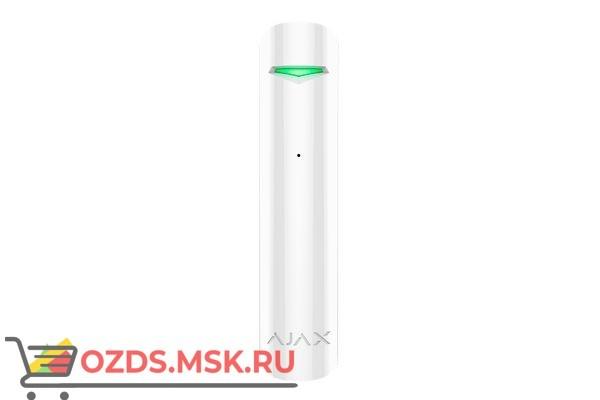 Ajax GlassProtect (white) Беспроводной датчик разбития стекла
