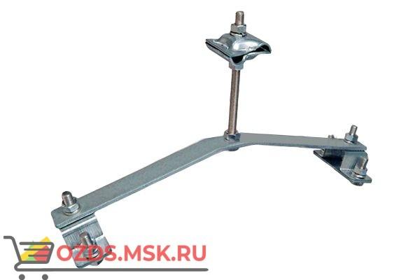 EZETEK 70845 Держатель проводника круглого 8-10 мм для конька опорный, оцинк.