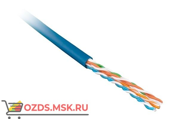 Hyperline UUTP4-C5E-P24-IN-LSZH-BL-100: Кабель