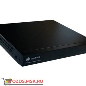 Optimus AHDR-2016N: Гибридный 5в1 16 канальный цифровой видеорегистратор