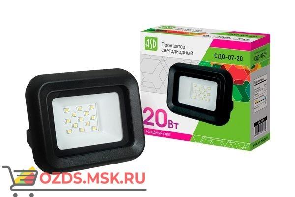 ASD СДО-07-20 прожектор LED 20Вт 6500К 1500Лм IP65