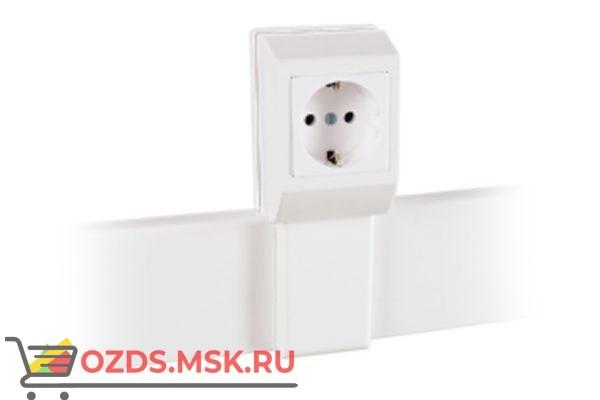 020007S  5шт/уп SPL: Суппорт с рамкой на 1 пост (45х45) вдоль профиля универсальный