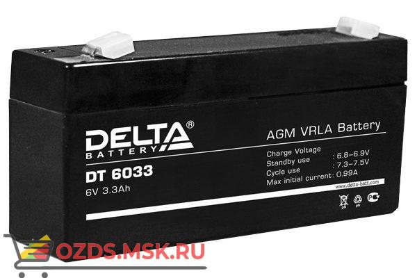 Delta DT 6033 Аккумулятор