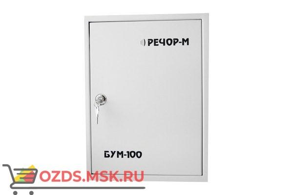 РЕЧОР БУМ-100 Дополнительный усилитель мощности для устройства БАС-150