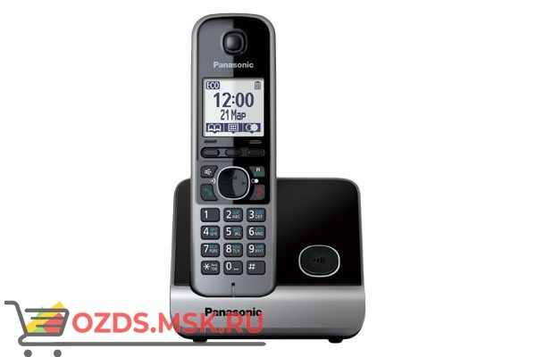 Panasonic KX-TG6711RUB: Радиотелефон