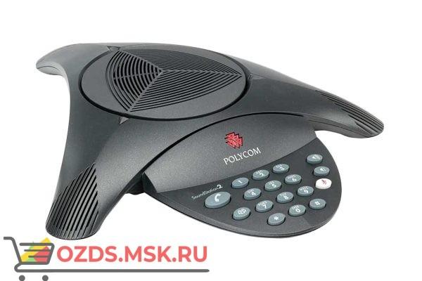 Polycom SoundStation2 Телефонный аппарат для конференц-связи (без дисплея)