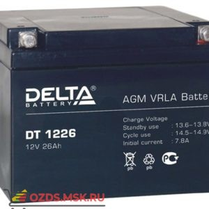 Delta DT 1226 Аккумулятор