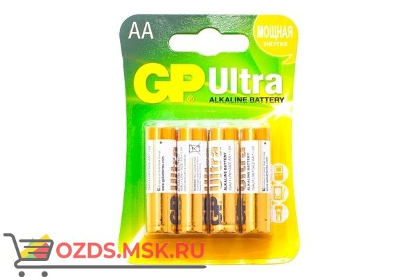 GP Ultra Alkaline 15AU-CR4: Батарейка алкалиновая