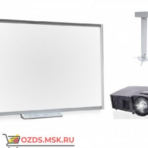 SMART Board SBM685 с проектором SMART V12 и креплением DSM-14KW: Интерактивный комплект