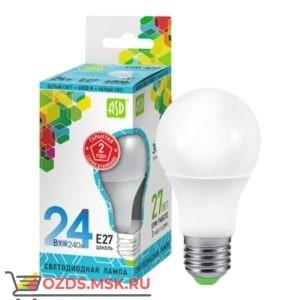 ASD LED-A60 24Вт Е27 3000К 2160Лм: Лампа