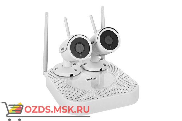 GiNZZU HK-420W Wi-Fi: Комплект видеонаблюдения