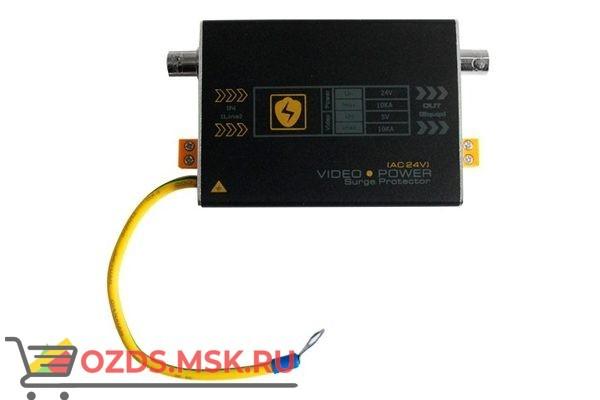 CO-PL-V1/ACDC1-P406Грозозащита линии 12/24Вольт и коаксильного кабеля 75 Ом. Поддержка AHD-M / AHD