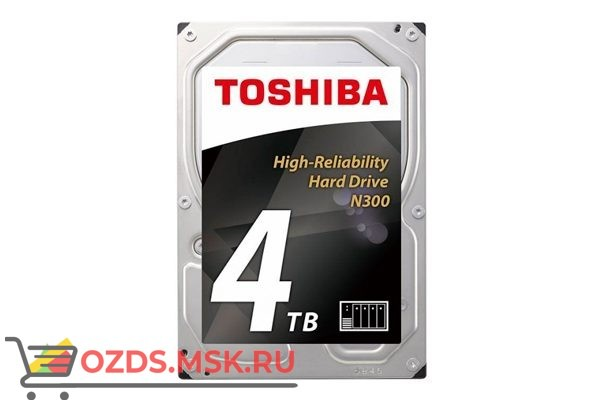 Toshiba HDWQ140UZSVA HDD 4Тб: Жесткий диск